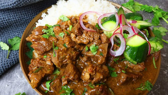 Beef Madras Indian Curry