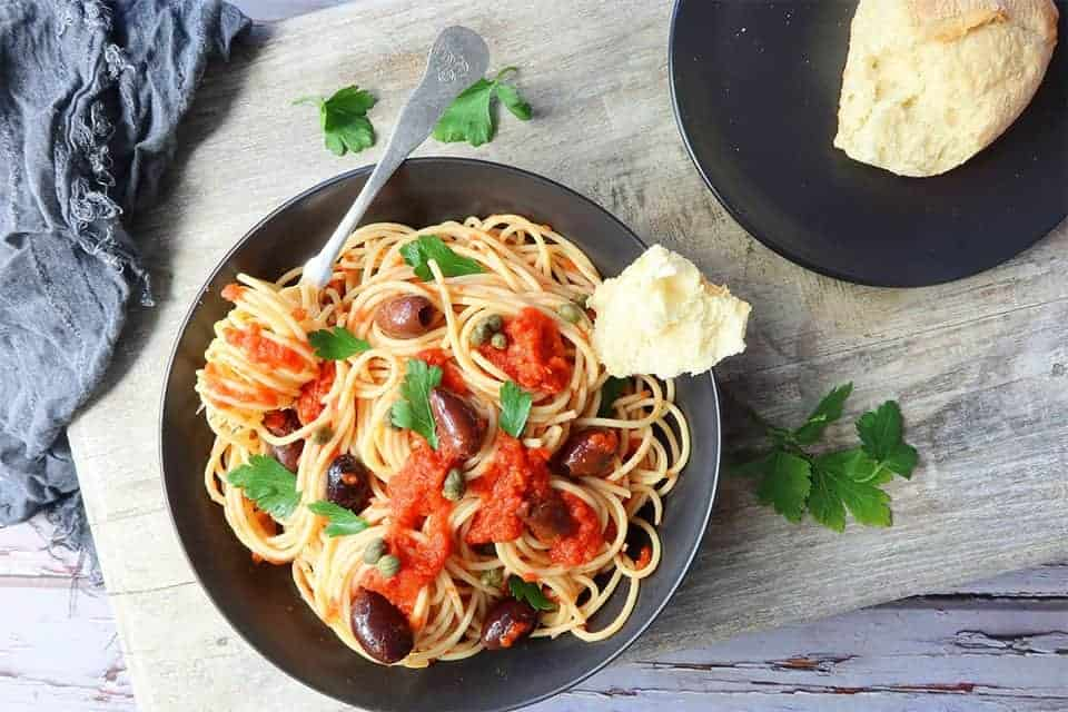 Puttanesca Pasta Sauce