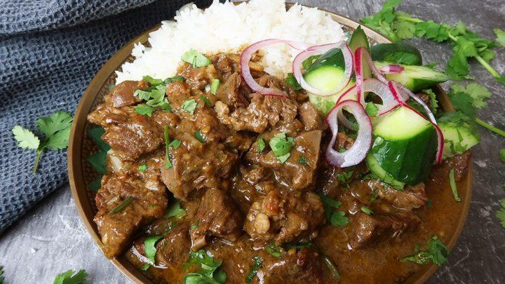beef madras curry