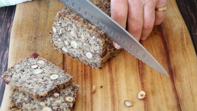 Easy Healthy Grain and Seed Bread - GF V