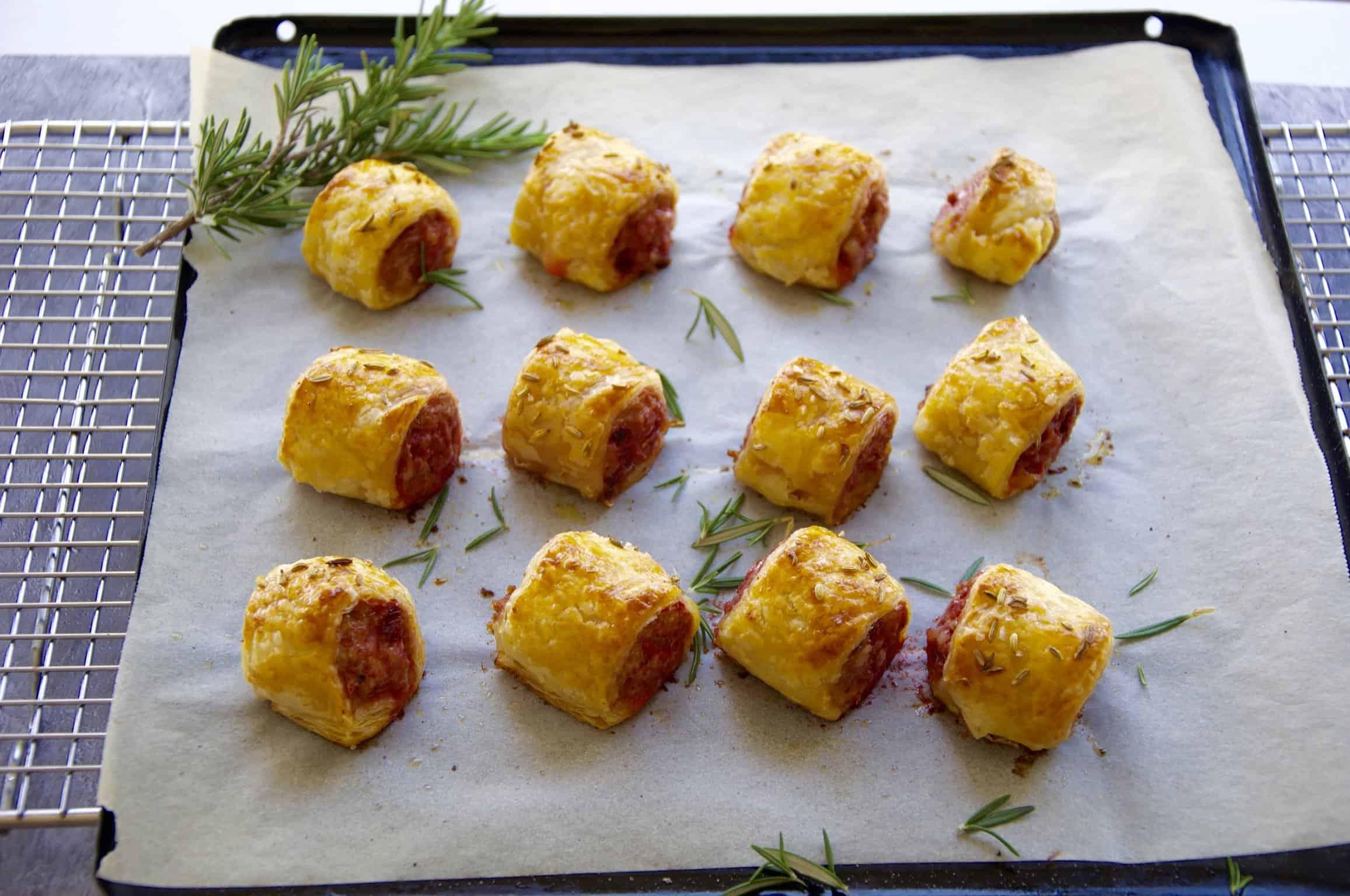 cheats gourmet sausage rolls