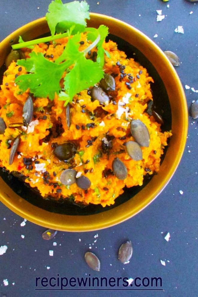 spicy morrocan carrot dip