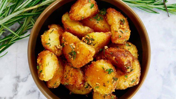 crispy roast potatoes