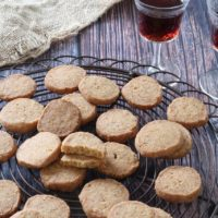 Anchovy, Cheese and Pine Nut Biscuits