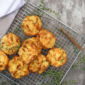 Mashed Potato Cheese Puffs
