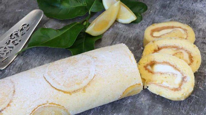 Lemon Roulade