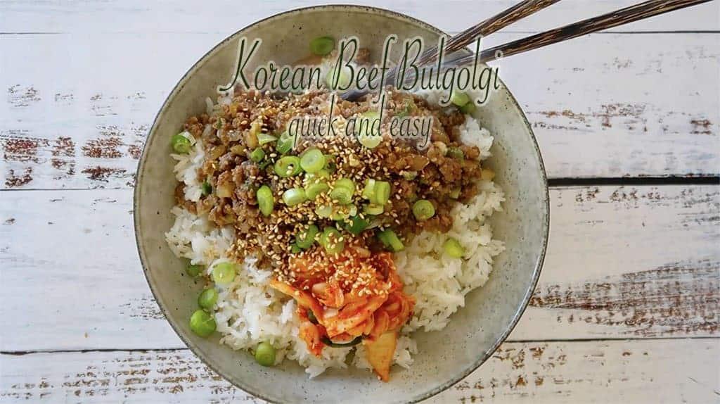 Korean Beef Bulgolgi