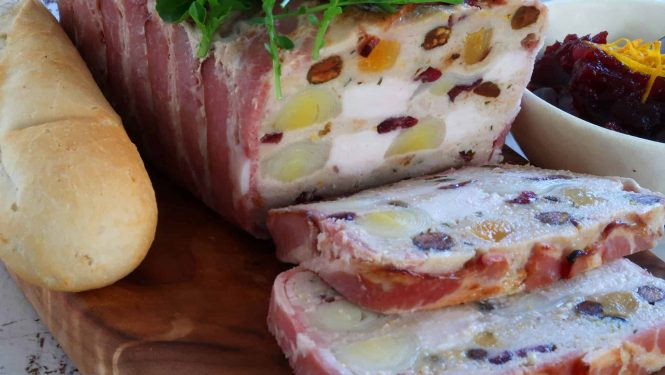 Festive Chicken Terrine
