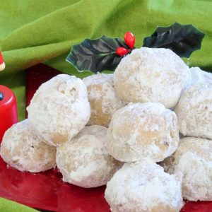 Walnut Snowball Cookies