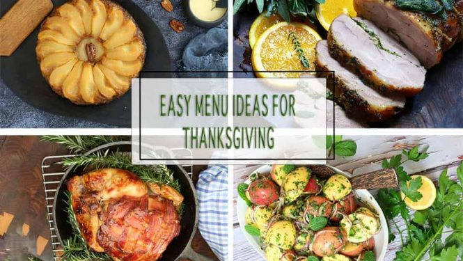 Easy Holiday Menu Ideas