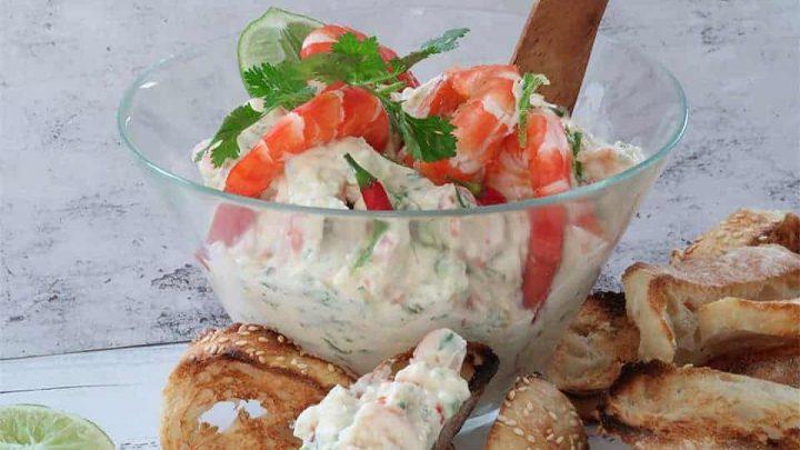 Prawn Coriander & Sweet Chilli Dip