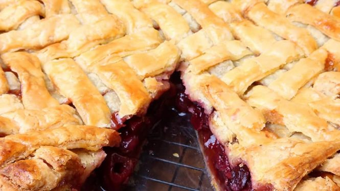 Homemade Cherry Pie Recipe