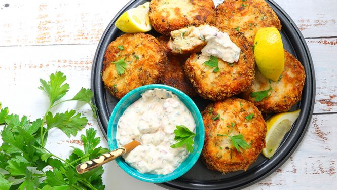 Delicious Fish Cakes - From Leftovers