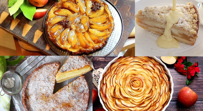 fall desserts with apples