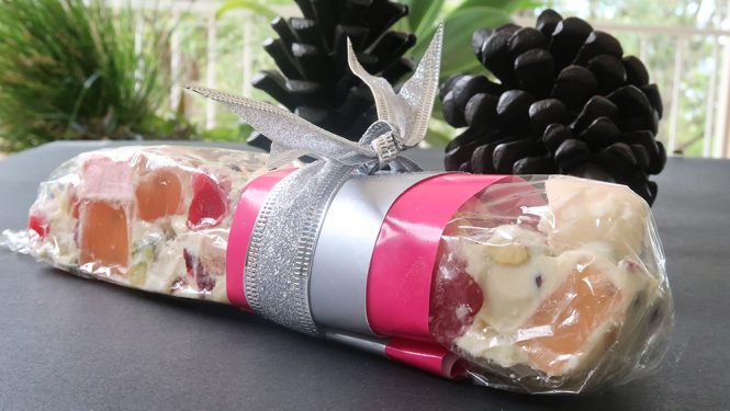 White Chocolate Rocky Road Candy Bar